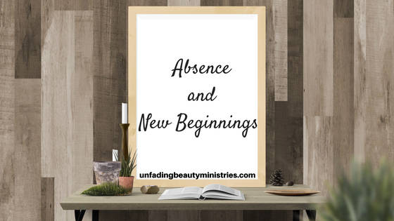 Absence and new beginnings