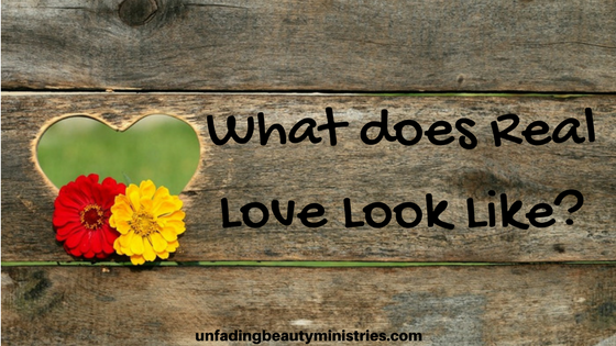 What does Real Love Look Like-
