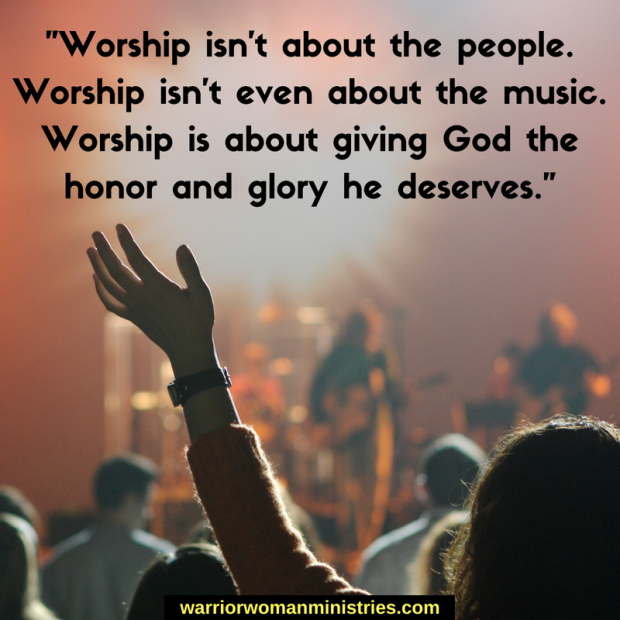 What Worship is about