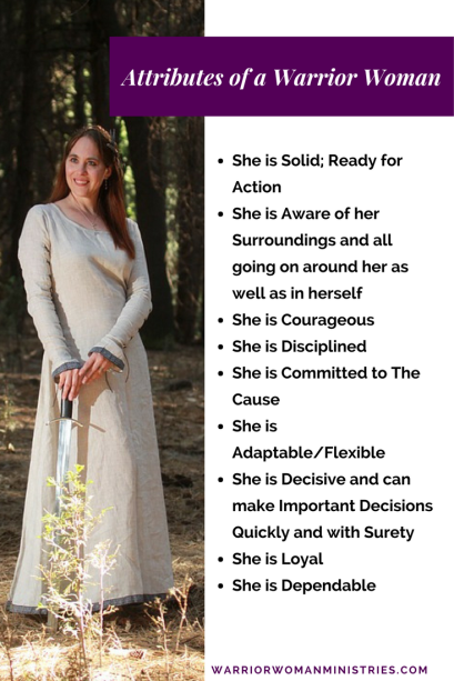Attributes of a Warrior Woman