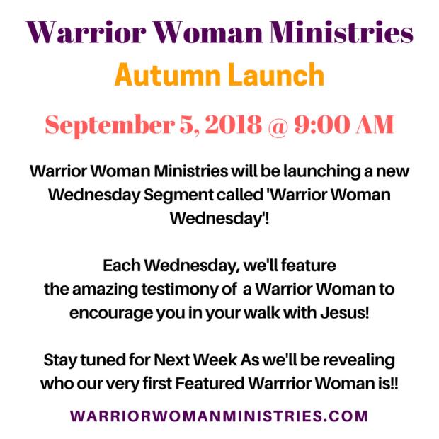 Autumn 2018 Launch