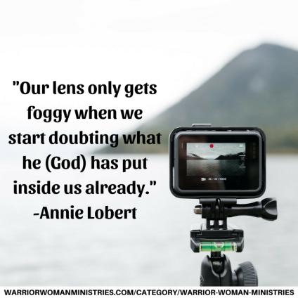 Annie Lobert Quote