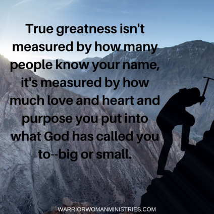 True Greatness Quote